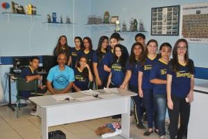 Paulo Dias e alunos